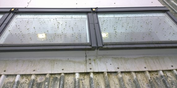 Velux skylight cleaning wiltshire hampshire omega for How to clean velux skylights