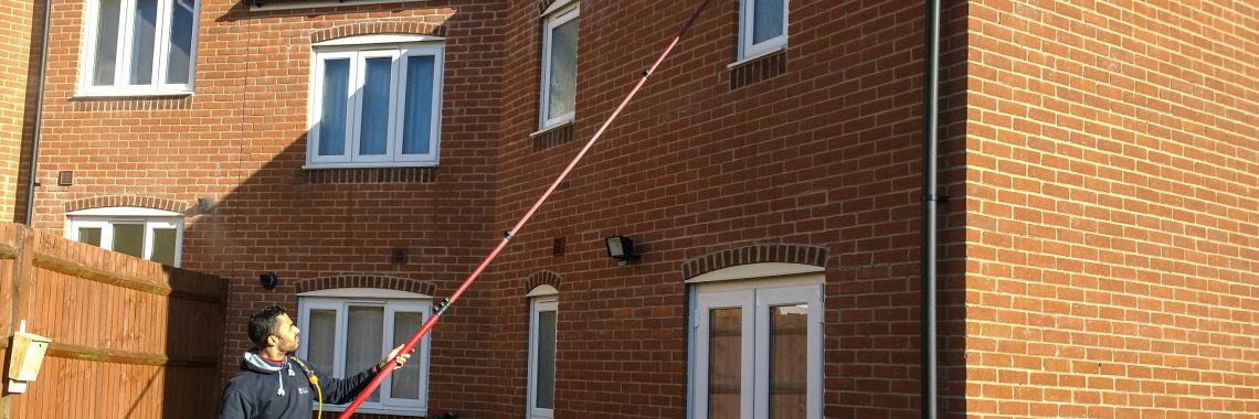 Window cleaning in Andover, Augusta Park