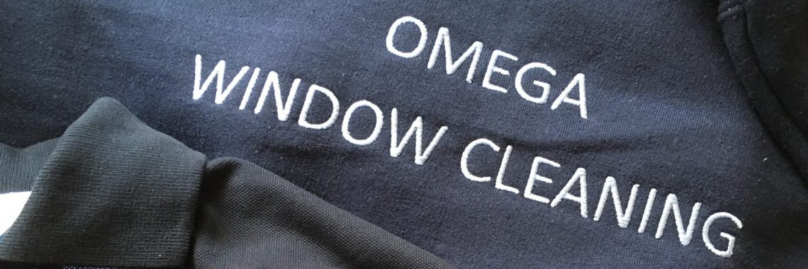 Andover window cleaners uniforms - Omega Window Cleaning