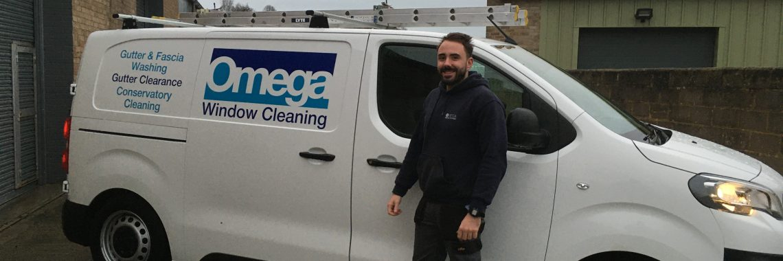 commercial window cleaning operator - Adam - Omega Window Cleaning